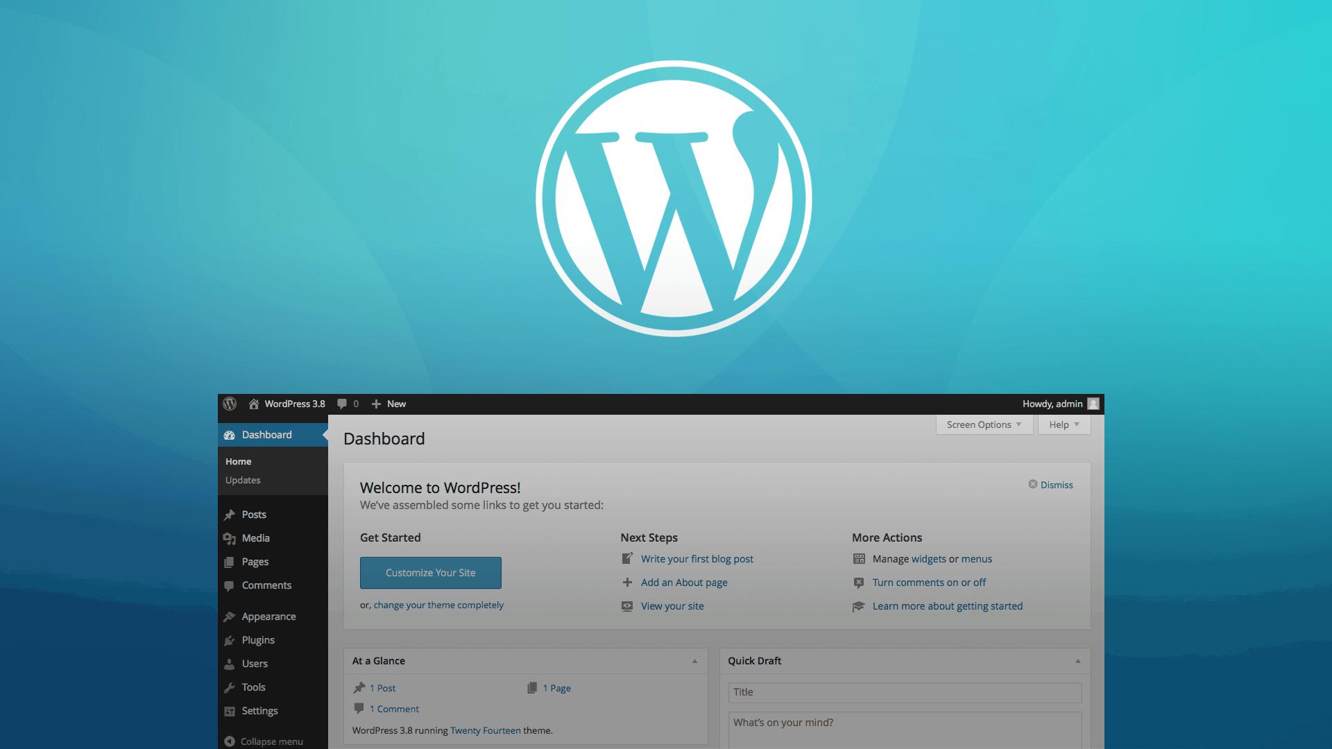Desenvolvi Desenvolvimento Web Painel Administrativo WordPress