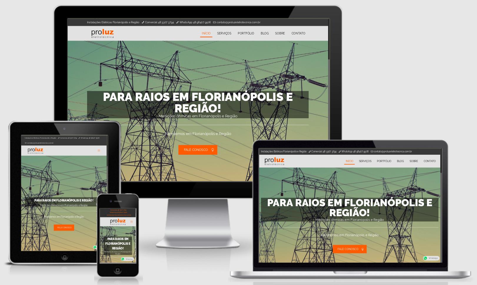 Desenvolvi Desenvolvimento Web Proluz Eletrotécnica Versão 2
