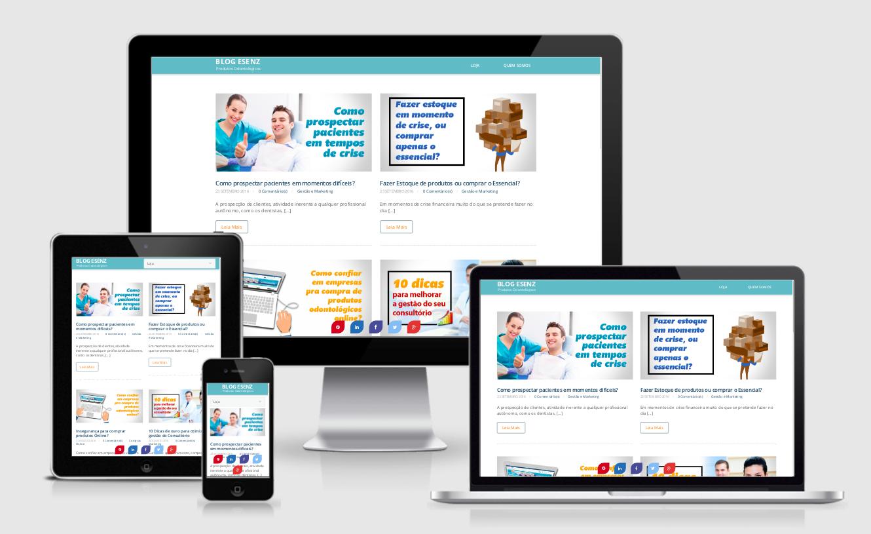 Desenvolvi Desenvolvimento Web Sites Blog Esenz