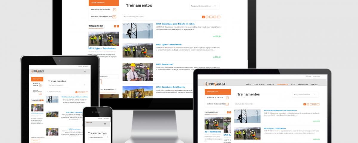 Desenvolvi Desenvolvimento Web Sites Inovarum Treinamentos