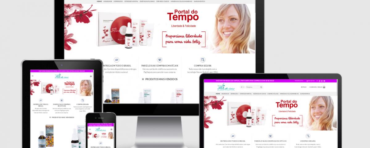 Desenvolvi Desenvolvimento Web Sites Loja Terapia Flor de Íris Brasil