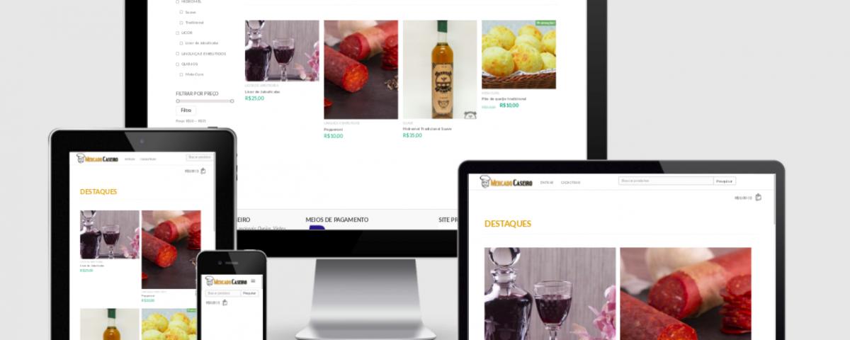 Desenvolvi Desenvolvimento Web Sites Mercado Caseiro