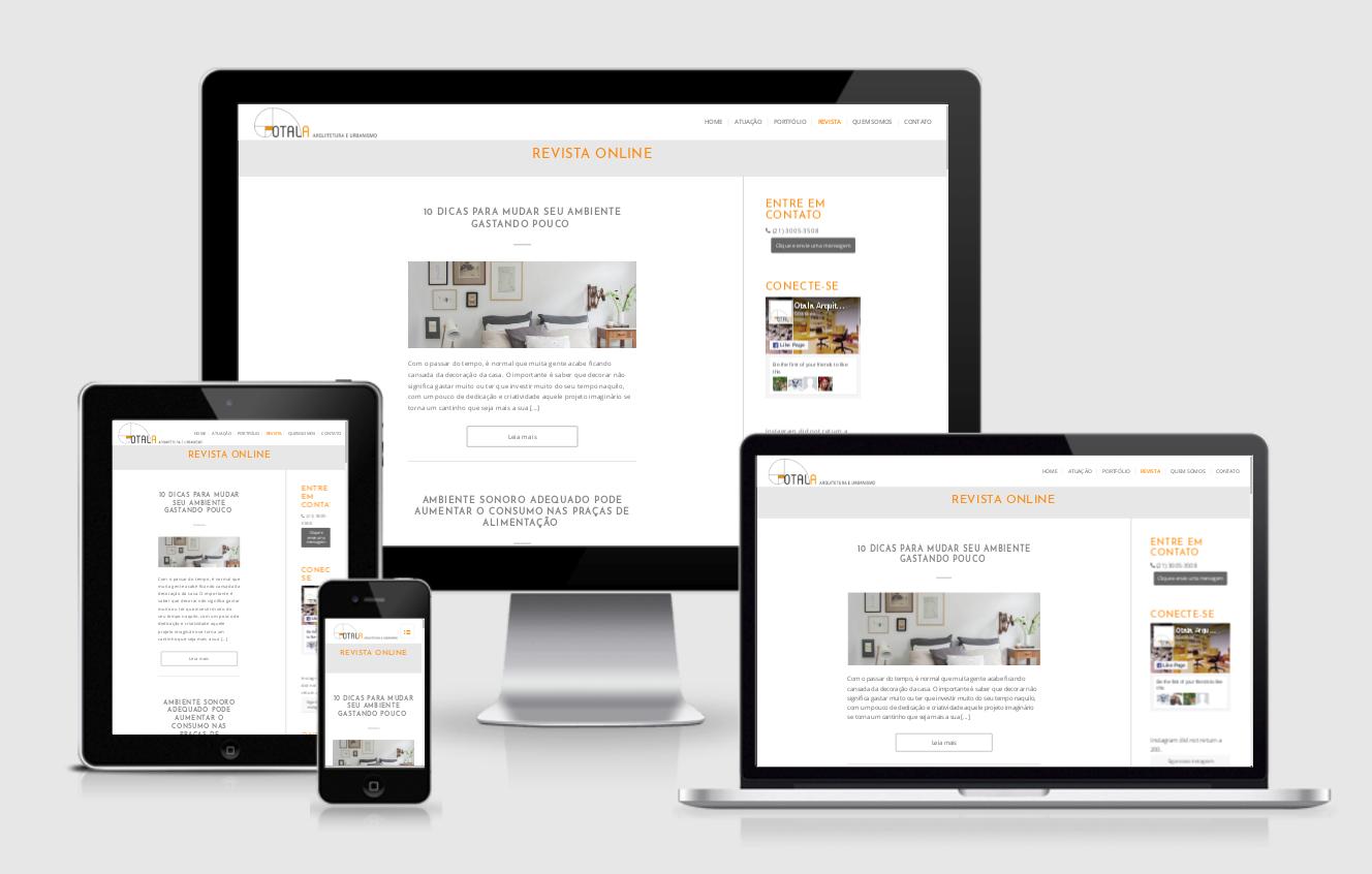 Desenvolvi Desenvolvimento Web Sites Otala