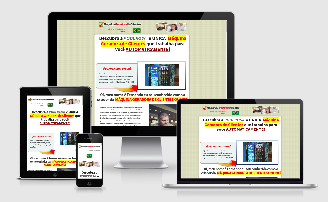 Desenvolvi Desenvolvimento Web Sites Programa Leads Calculadora Fernando Augusto