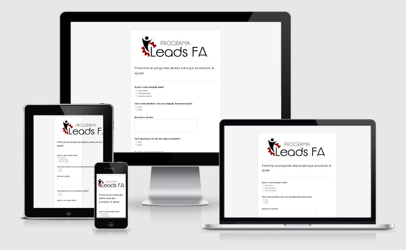 Desenvolvi Desenvolvimento Web Sites Programa Leads FA Fernando Augusto