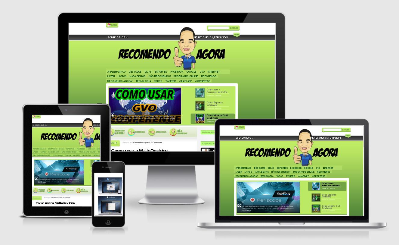 Desenvolvi Desenvolvimento Web Sites Recomendo Agora