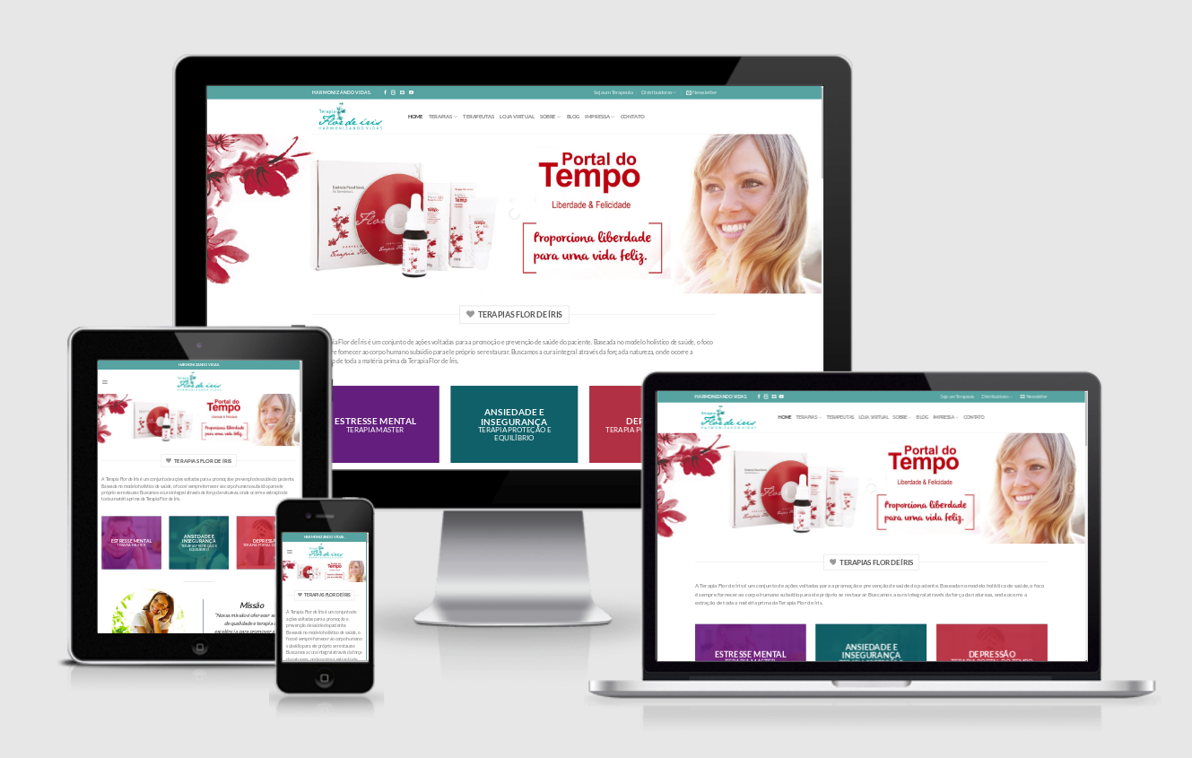 Desenvolvi Desenvolvimento Web Sites Terapia Flor de Íris