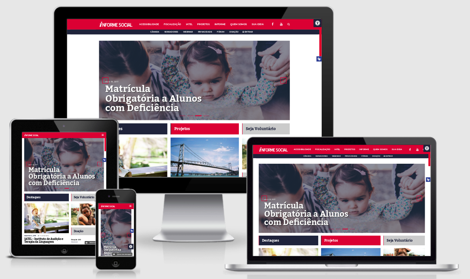 Desenvolvi Desenvolvimento Web Informe Social Florianópolis