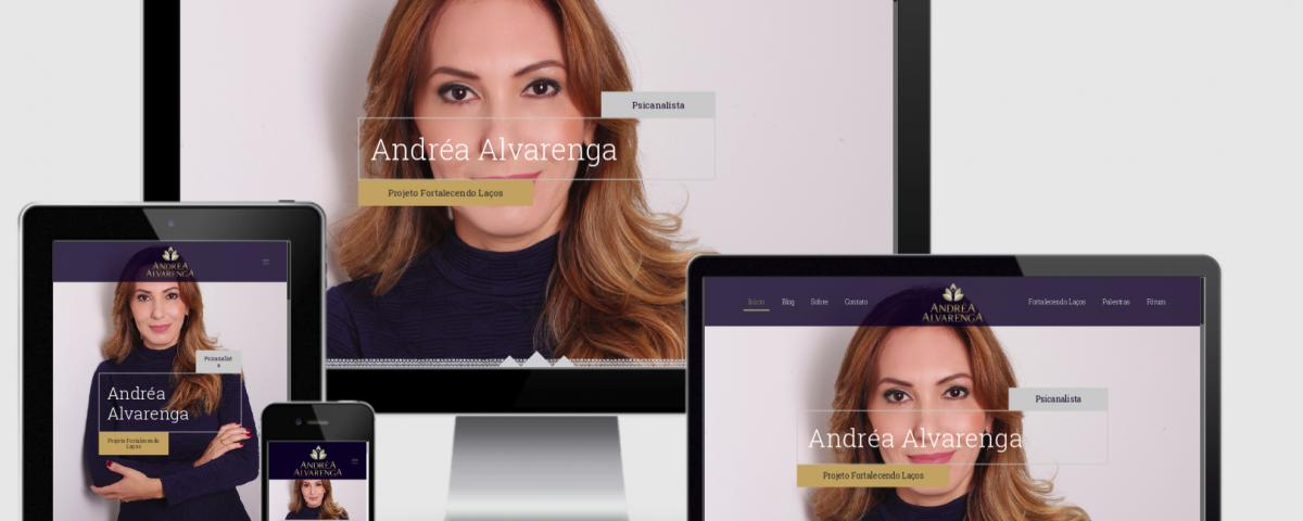 Desenvolvi Desenvolvimento Web Psicanalista Andréa Alvarenga