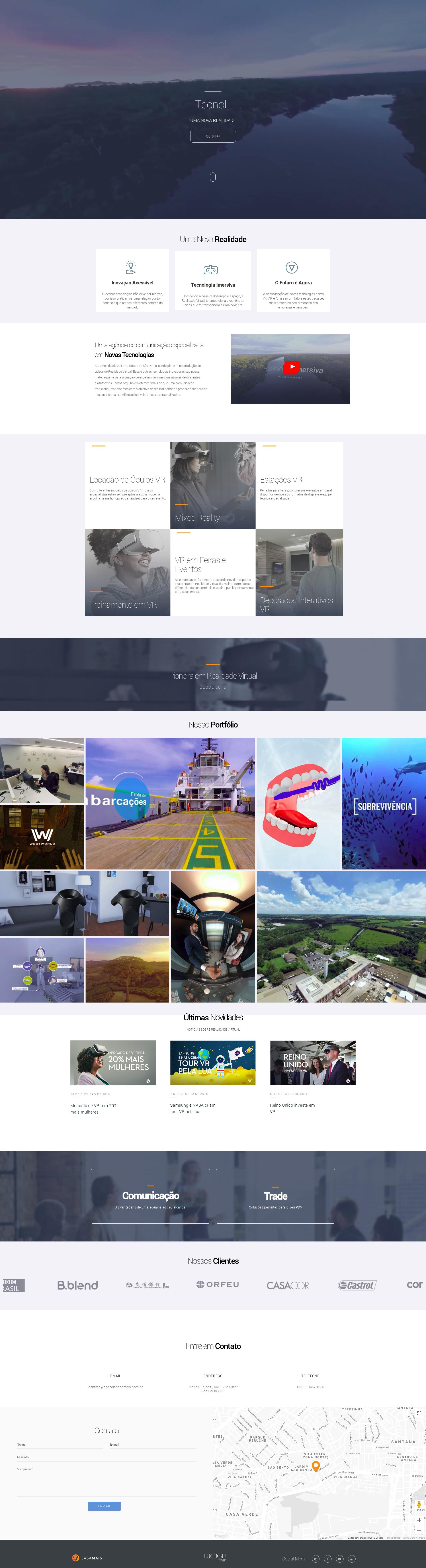 Desenvolvi Desenvolvimento Web Agência Casa Mais Realidade Virtual