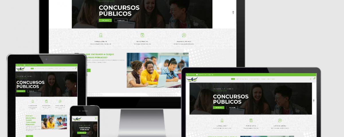 Desenvolvi Desenvolvimento Web Clique Concursos Públicos
