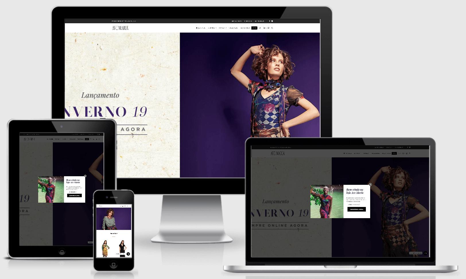 Desenvolvi Desenvolvimento Web Loja Ave Maria E-commerce