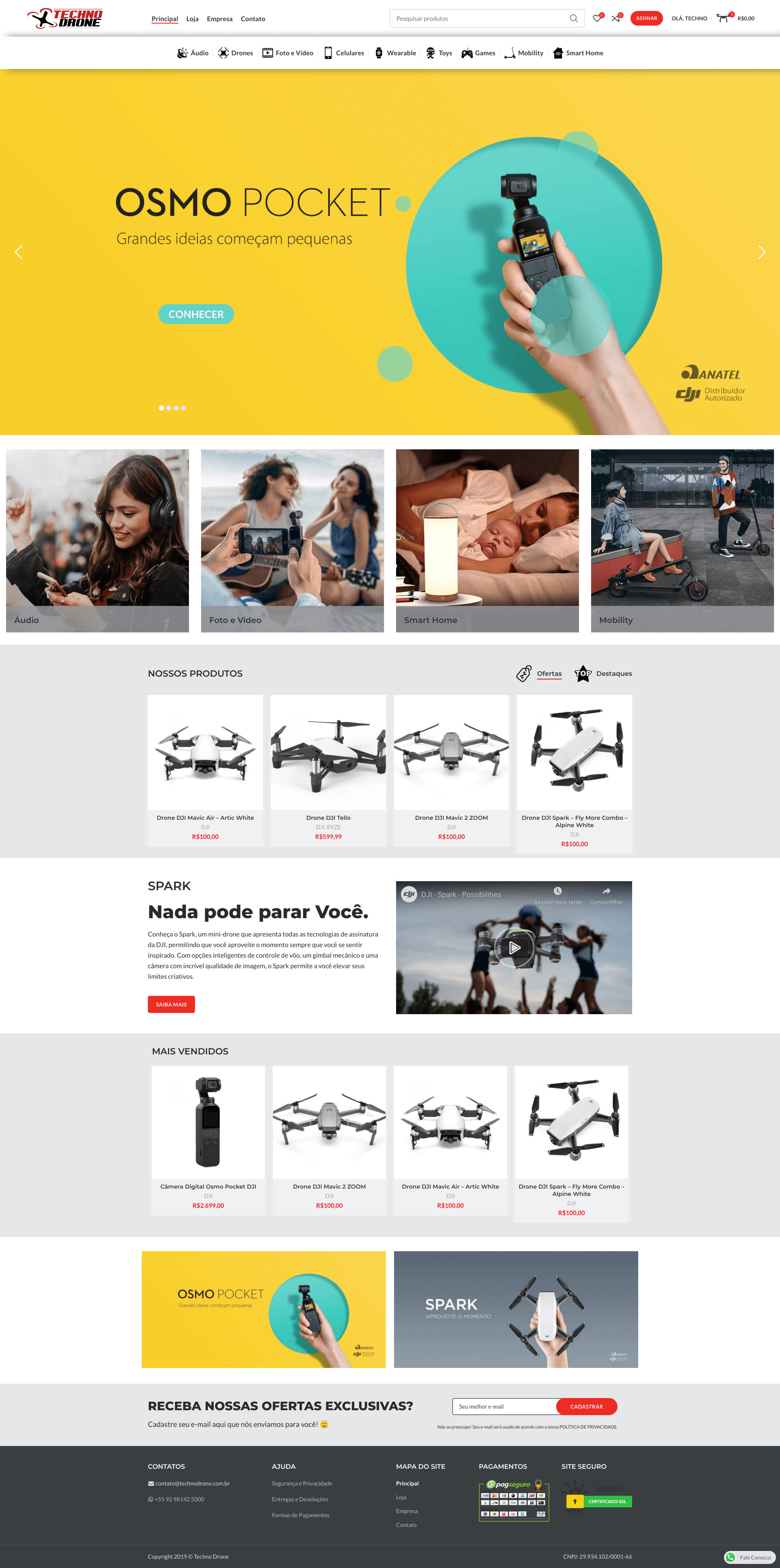 Techno Drone E-commerce